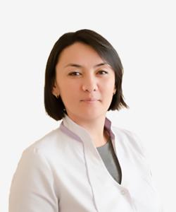 Vrach kardiolog Teleusheva Asel Gaugashtievna Sbs med