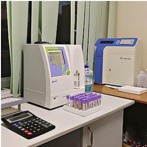 Laboratoria Sbs med sdavat krov i drugie analizy